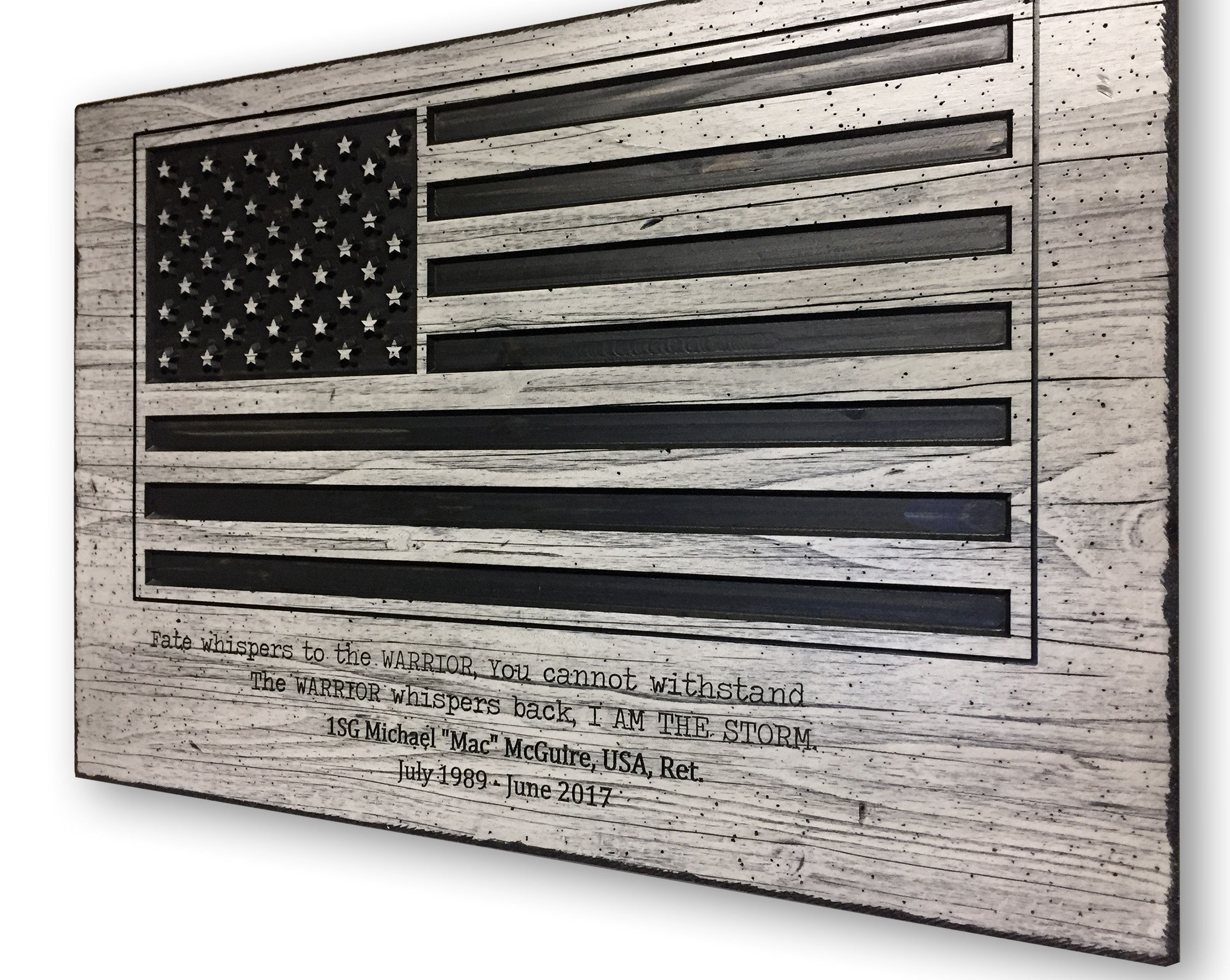 American Flag Art, United States Flag, Usa, Carved, 3D Wood In American Flag 3D Wall Decor (Image 11 of 30)