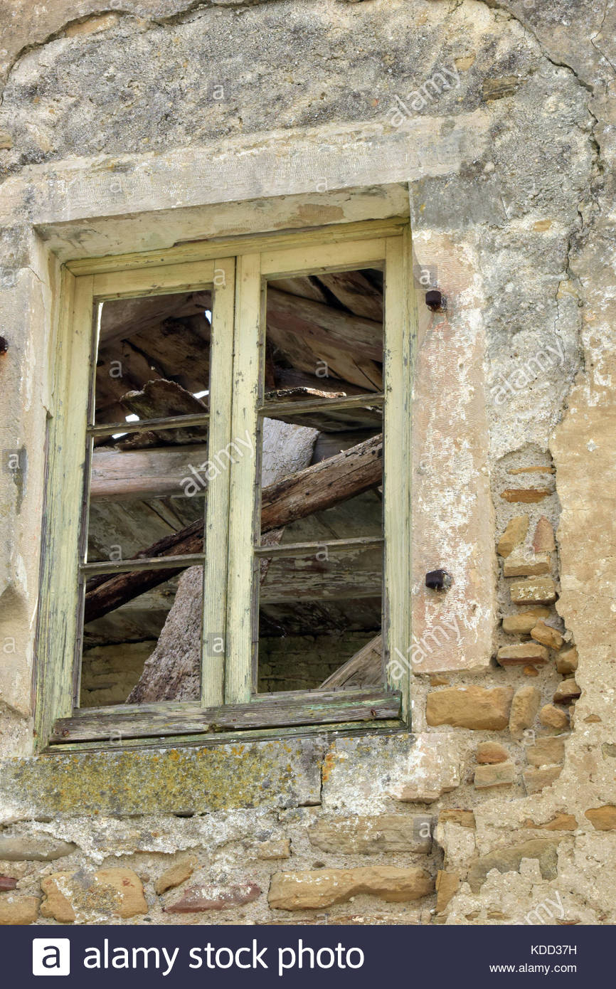 An Old Window Frame With Stone Lintel On A Derelict Barn Or regarding Old Rustic Barn Window Frame (Image 3 of 30)