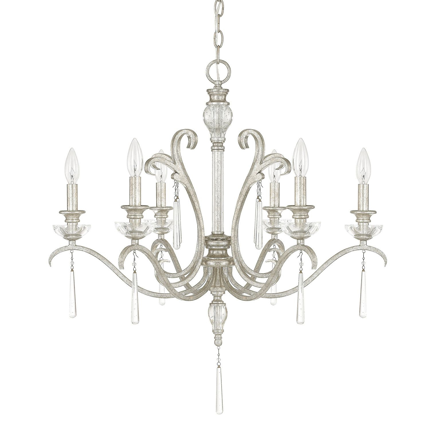 Anderson Chandelier | Products | Candle Chandelier With Oriana 4 Light Single Geometric Chandeliers (View 19 of 30)