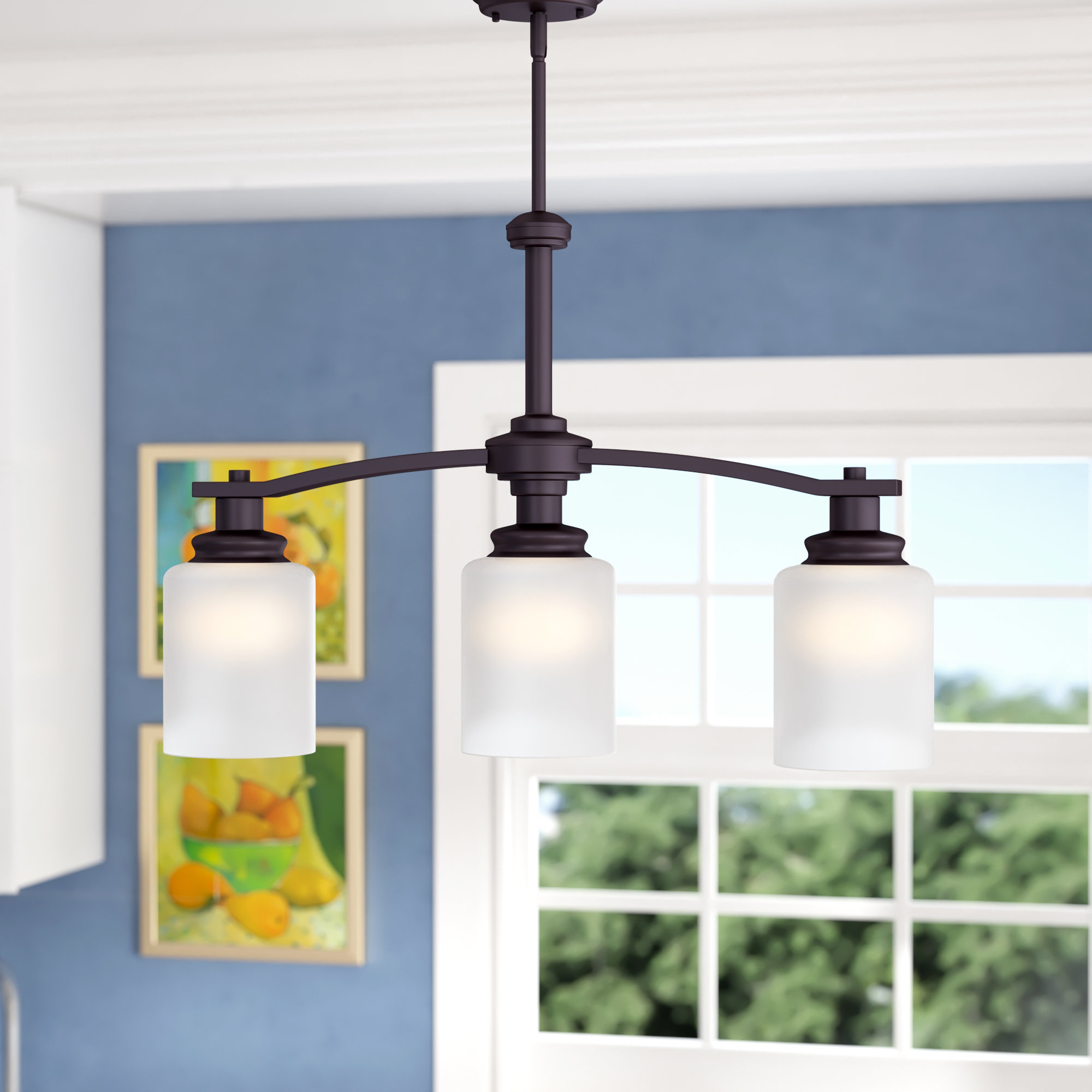 Andover Mills Slocumb 3 Light Kitchen Island Pendant For Smithville 4 Light Kitchen Island Pendants (View 6 of 30)