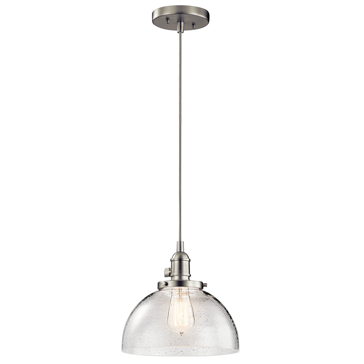 Antioch 1 Light Dome Pendant Throughout Ninette 1 Light Dome Pendants (View 8 of 30)