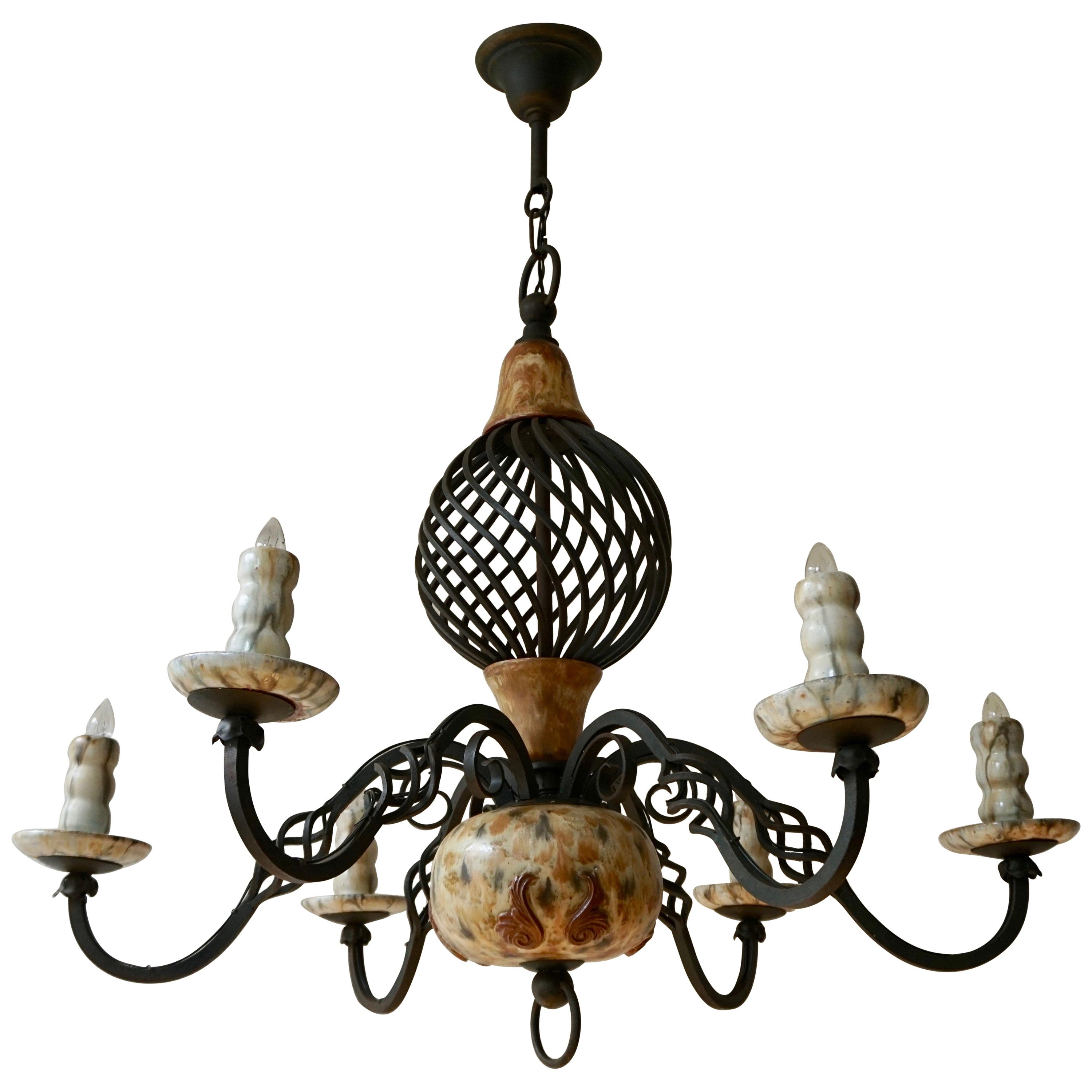 Antique And Vintage Chandeliers And Pendants – 35,242 For Intended For Emaria 3 Light Single Drum Pendants (View 30 of 30)
