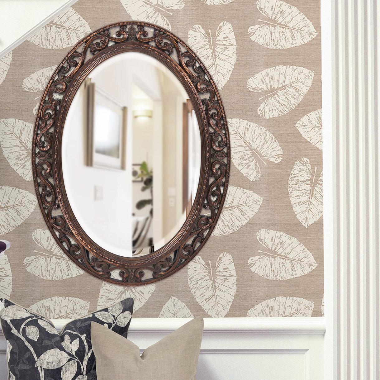 Antique Bronze Accent Mirror | Wayfair In Brynn Accent Mirrors (View 21 of 30)