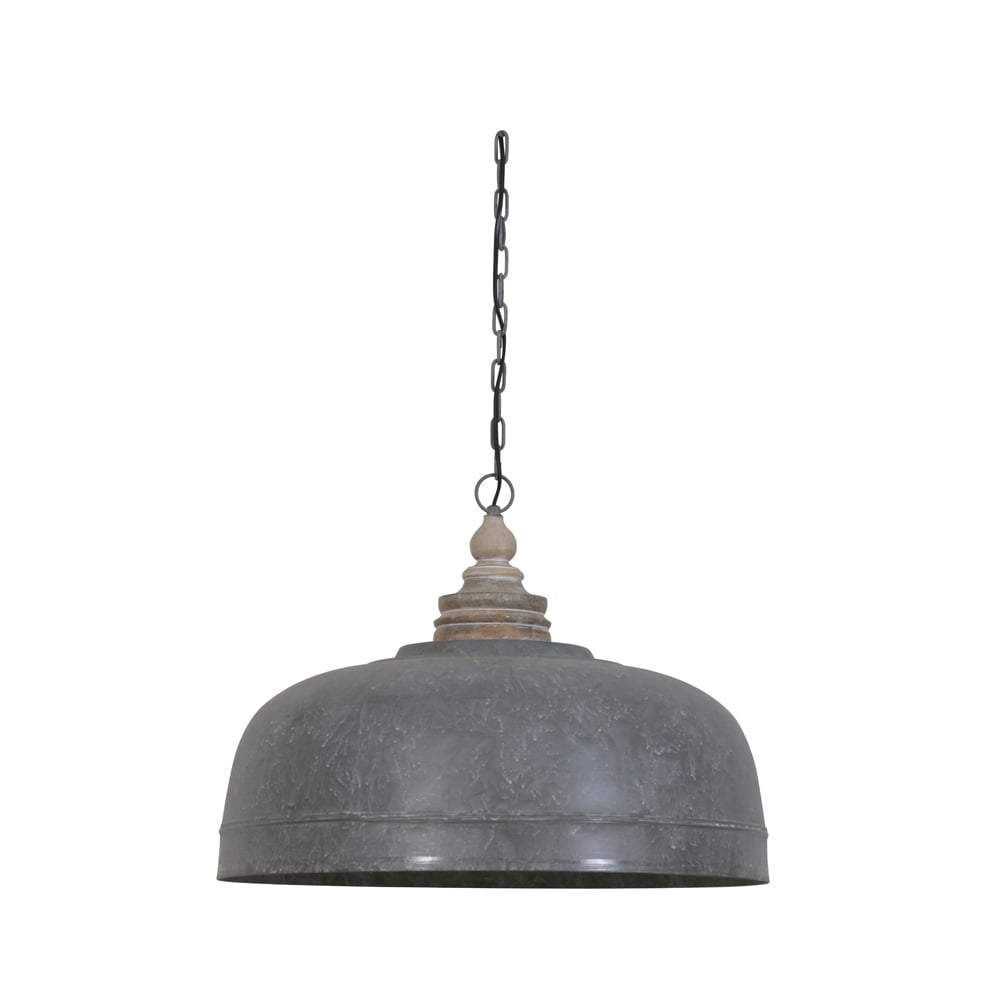 Antique Grey Dome Pendant In 2019 | Industrial Chic intended for Monadnock 1-Light Single Dome Pendants (Image 3 of 30)
