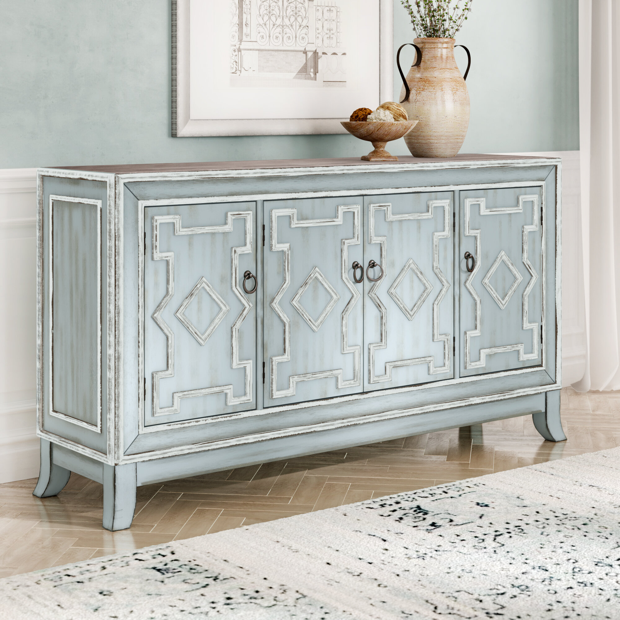 Antique Sideboard | Wayfair throughout Chaffins Sideboards (Image 8 of 30)