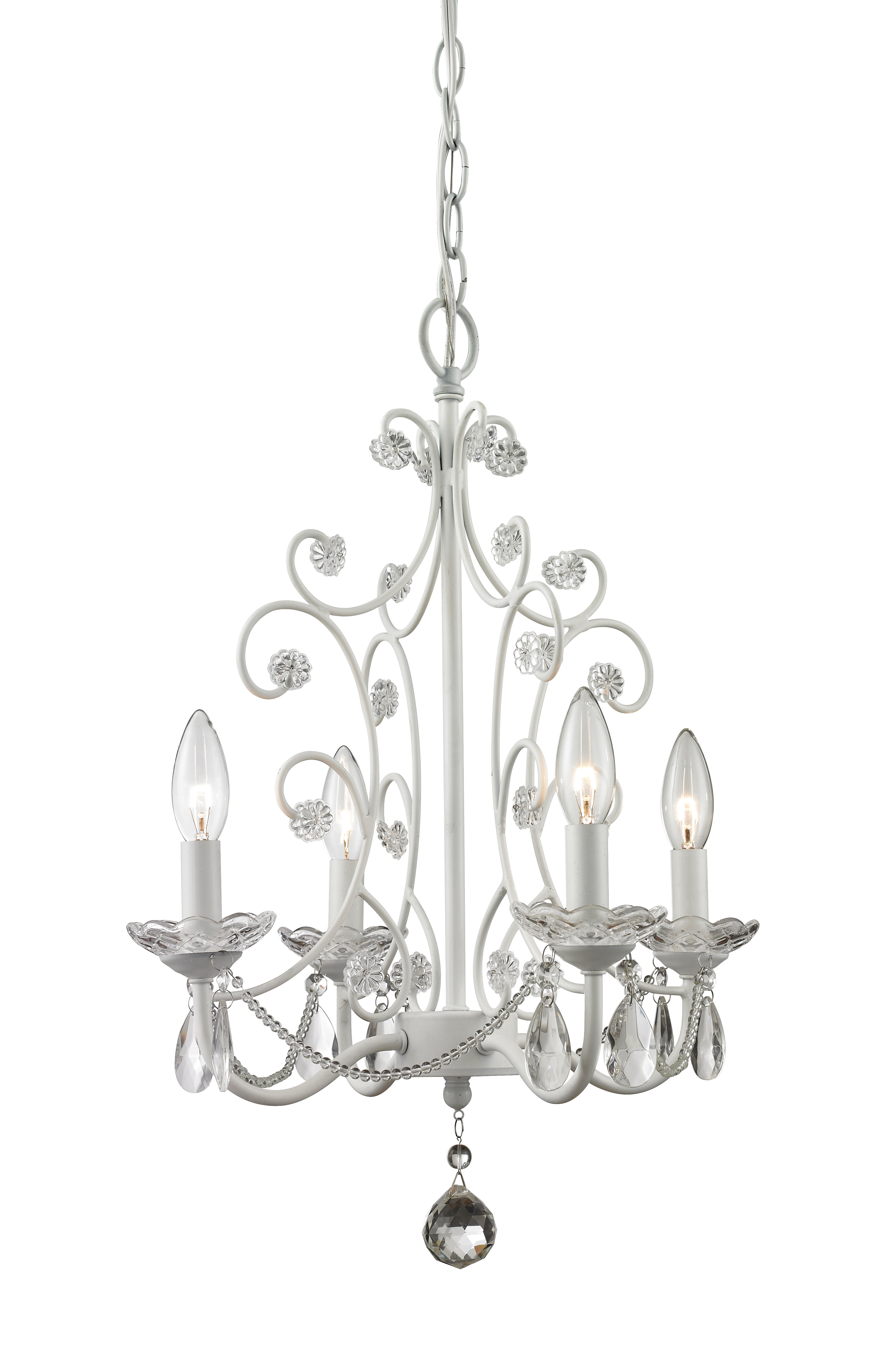 Aquilla 4 Light Candle Style Chandelier With Regard To Aldora 4 Light Candle Style Chandeliers (View 8 of 30)