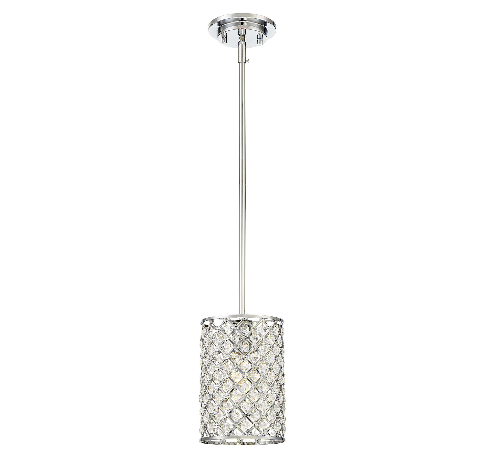 Araujo 1-Light Single Cylinder Pendant intended for Hermione 1-Light Single Drum Pendants (Image 2 of 30)