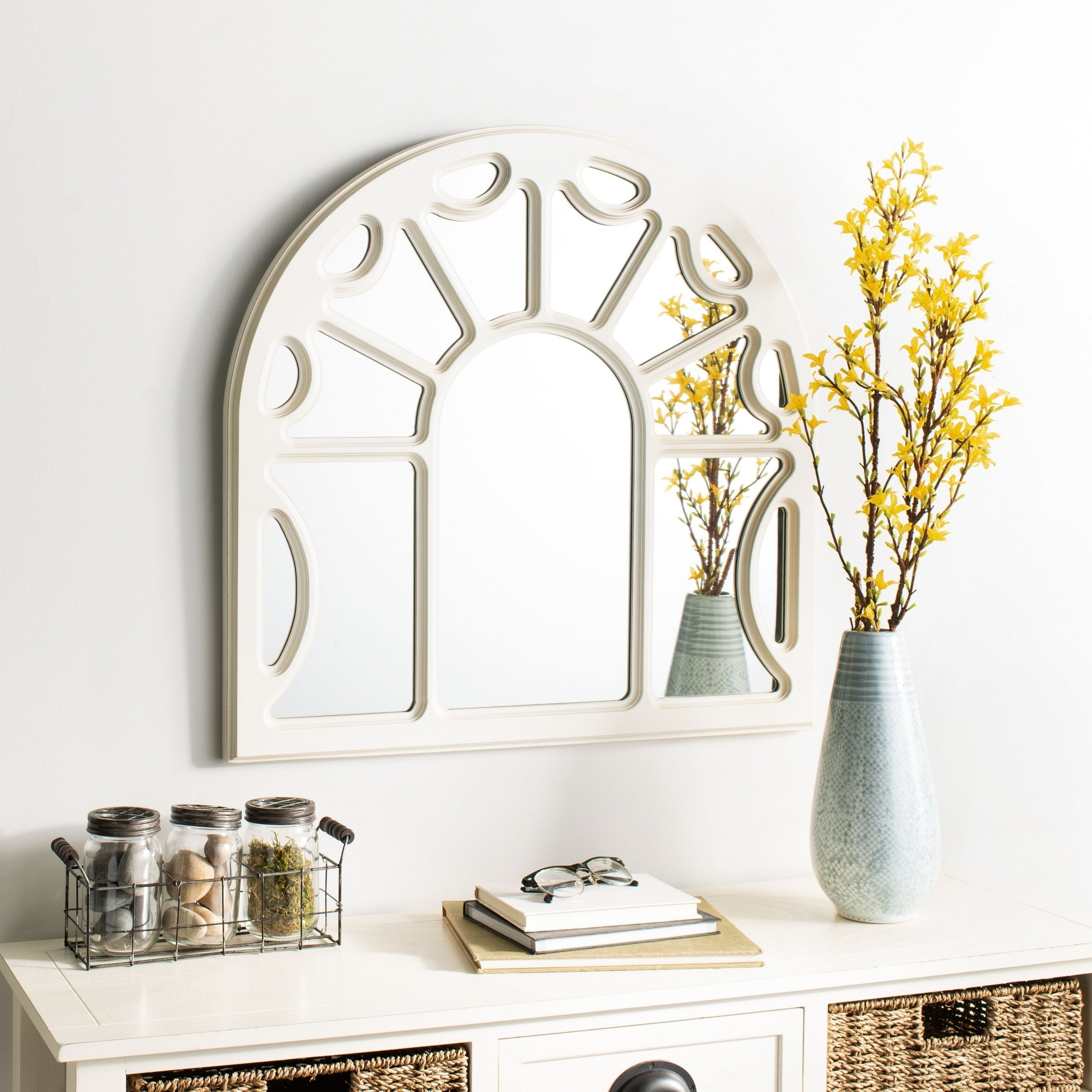 Arch Crowned Top, Wall Mirror | Shop Online At Overstock Inside Ekaterina Arch/crowned Top Wall Mirrors (View 18 of 30)