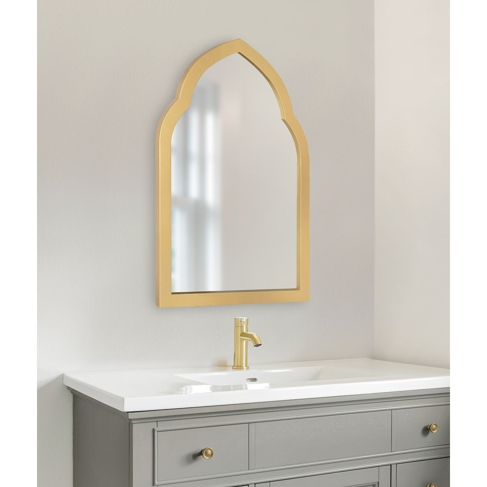 Arch Crowned Top, Wall Mirror   Shop Online At Overstock Intended For Ekaterina Arch/crowned Top Wall Mirrors (View 8 of 30)