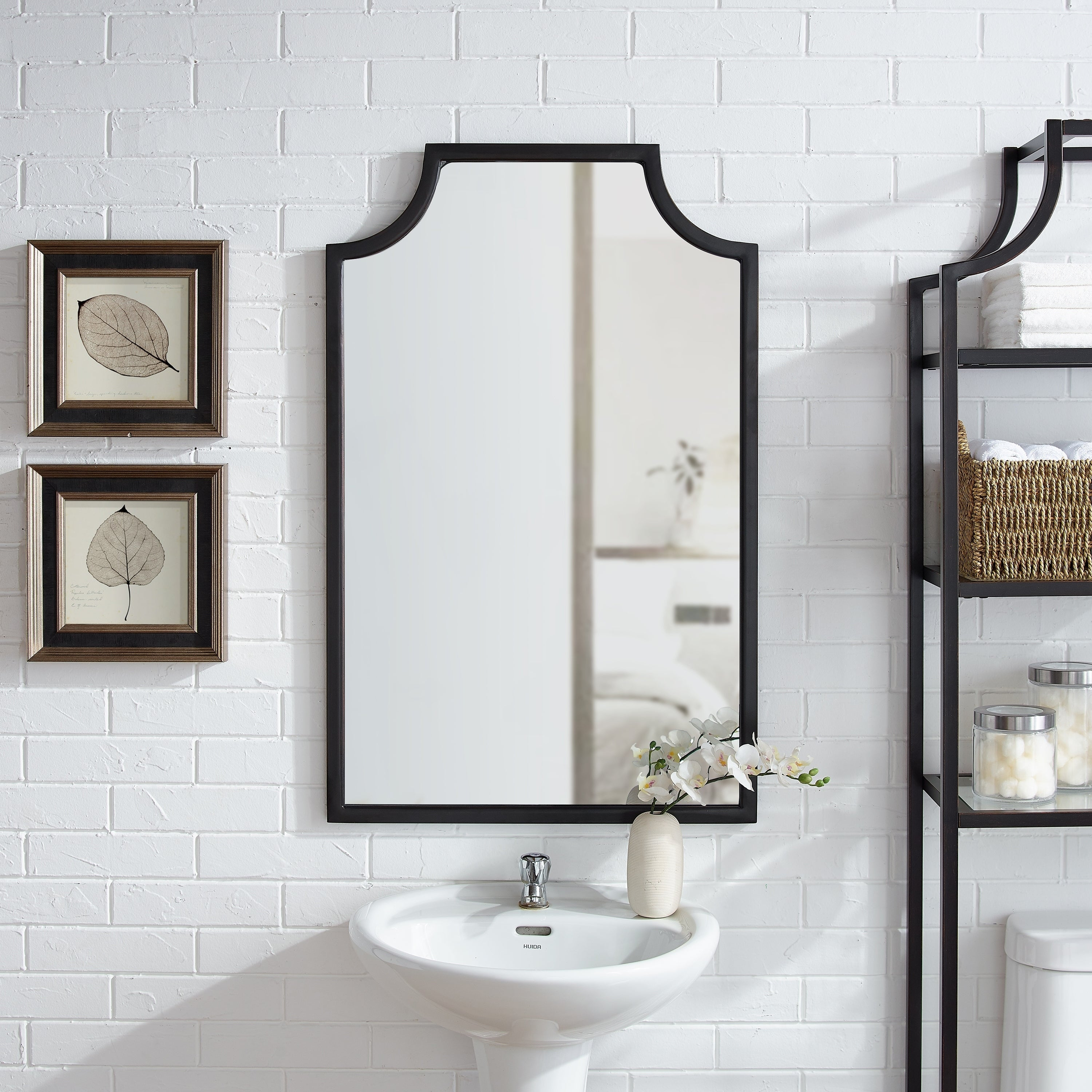 Arch Crowned Top, Wall Mirror | Shop Online At Overstock Pertaining To Ekaterina Arch/crowned Top Wall Mirrors (View 17 of 30)