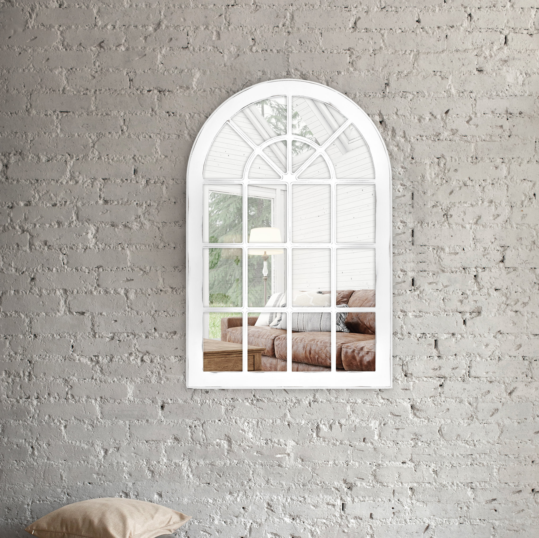 Arch & Crowned Top Wall Mounted Mirrors You'll Love In 2019 With Regard To Fifi Contemporary Arch Wall Mirrors (View 4 of 30)