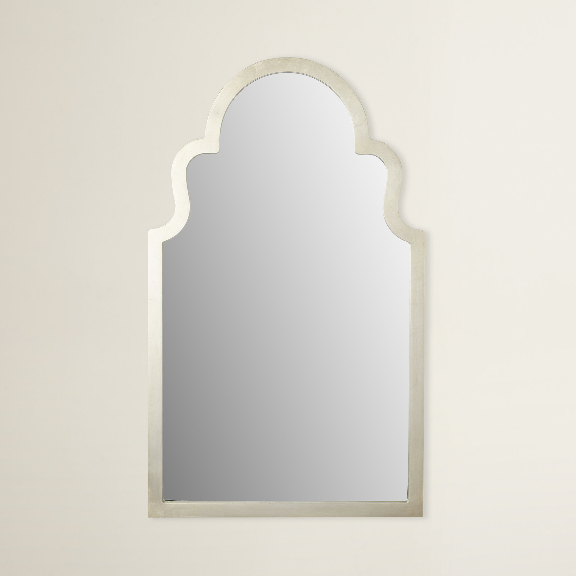 Arch Top Vertical Wall Mirror With Regard To Fifi Contemporary Arch Wall Mirrors (View 5 of 30)