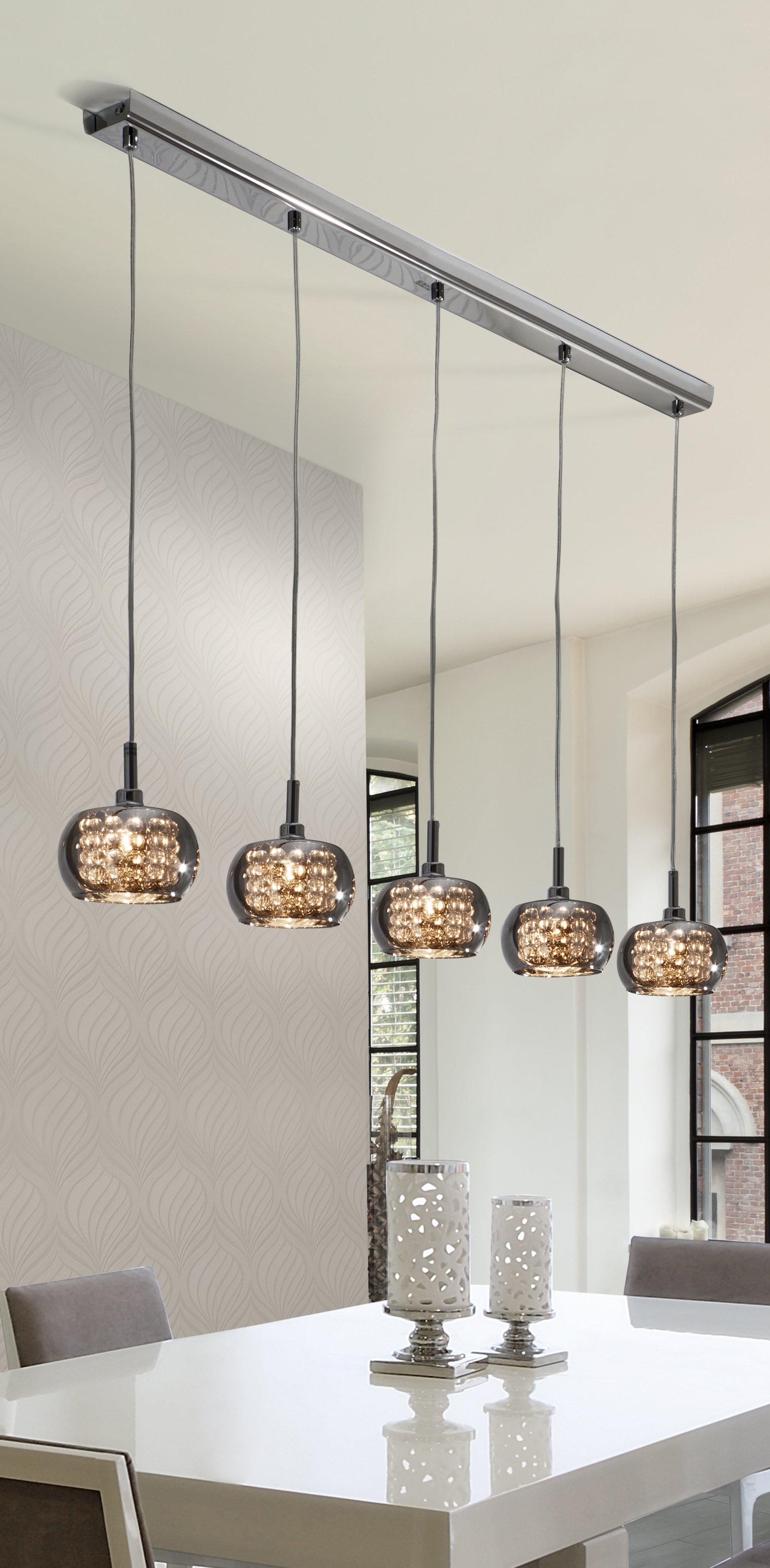 Arian 5 Light Kitchen Island Pendant | Décor: Lights & Lamps In Neal 5 Light Kitchen Island Teardrop Pendants (View 7 of 30)
