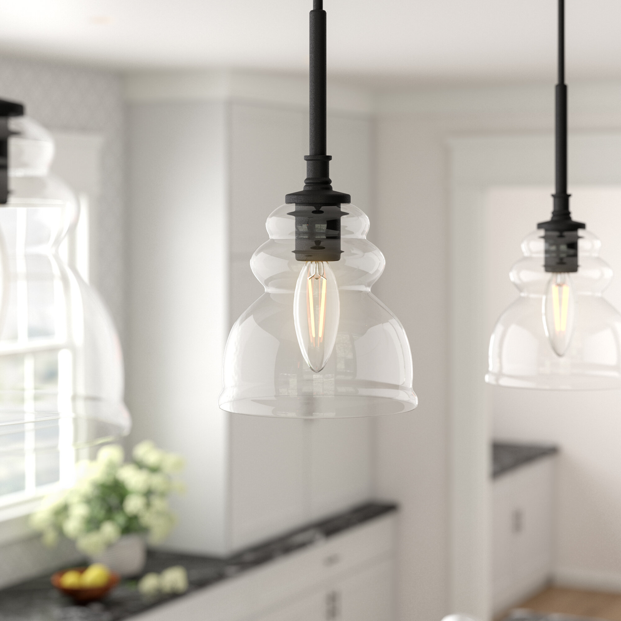 Arla 1 Light Single Bell Pendant Throughout Sargent 1 Light Single Bell Pendants (View 6 of 30)