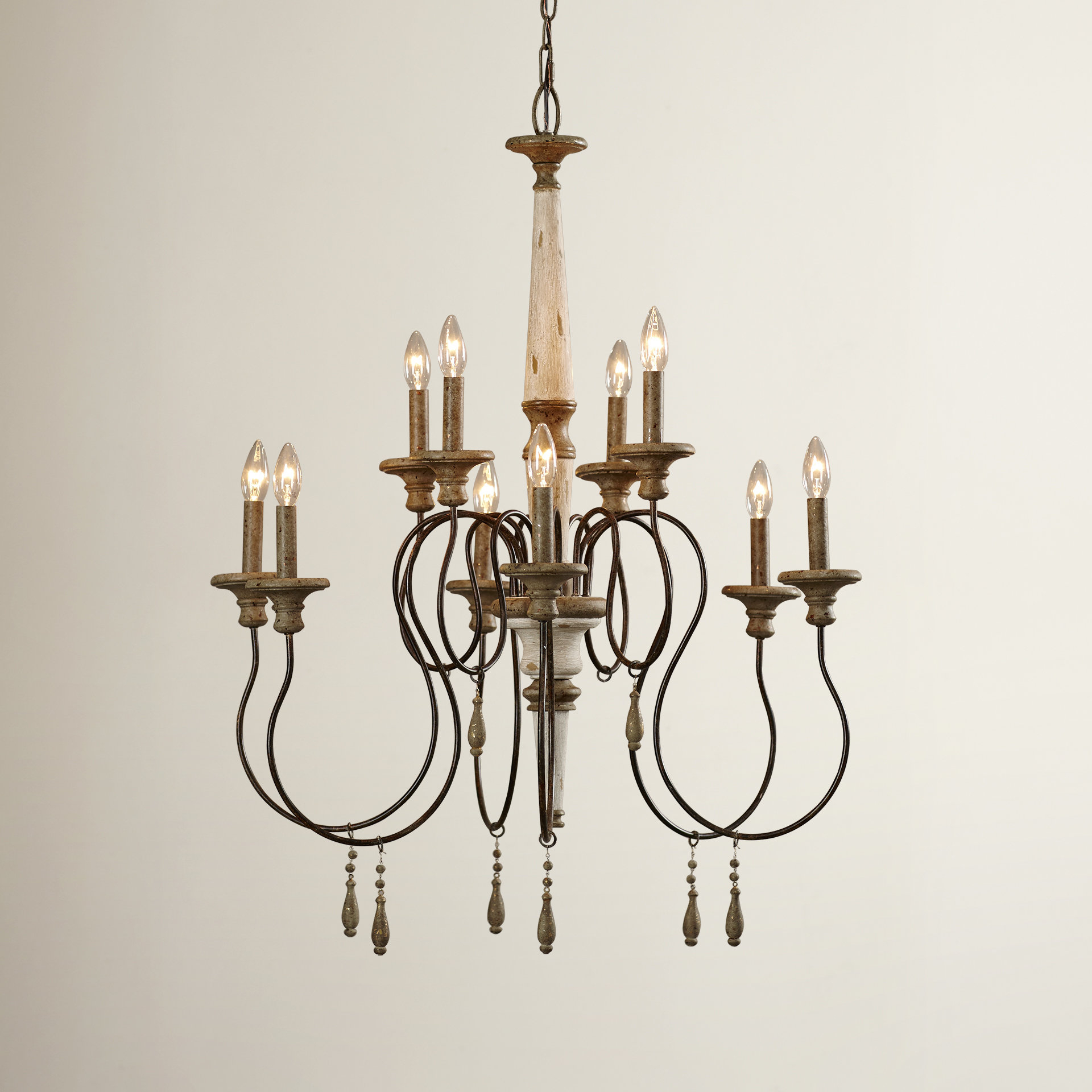 Armande Candle Style Chandelier Throughout Armande Candle Style Chandeliers (Image 8 of 30)
