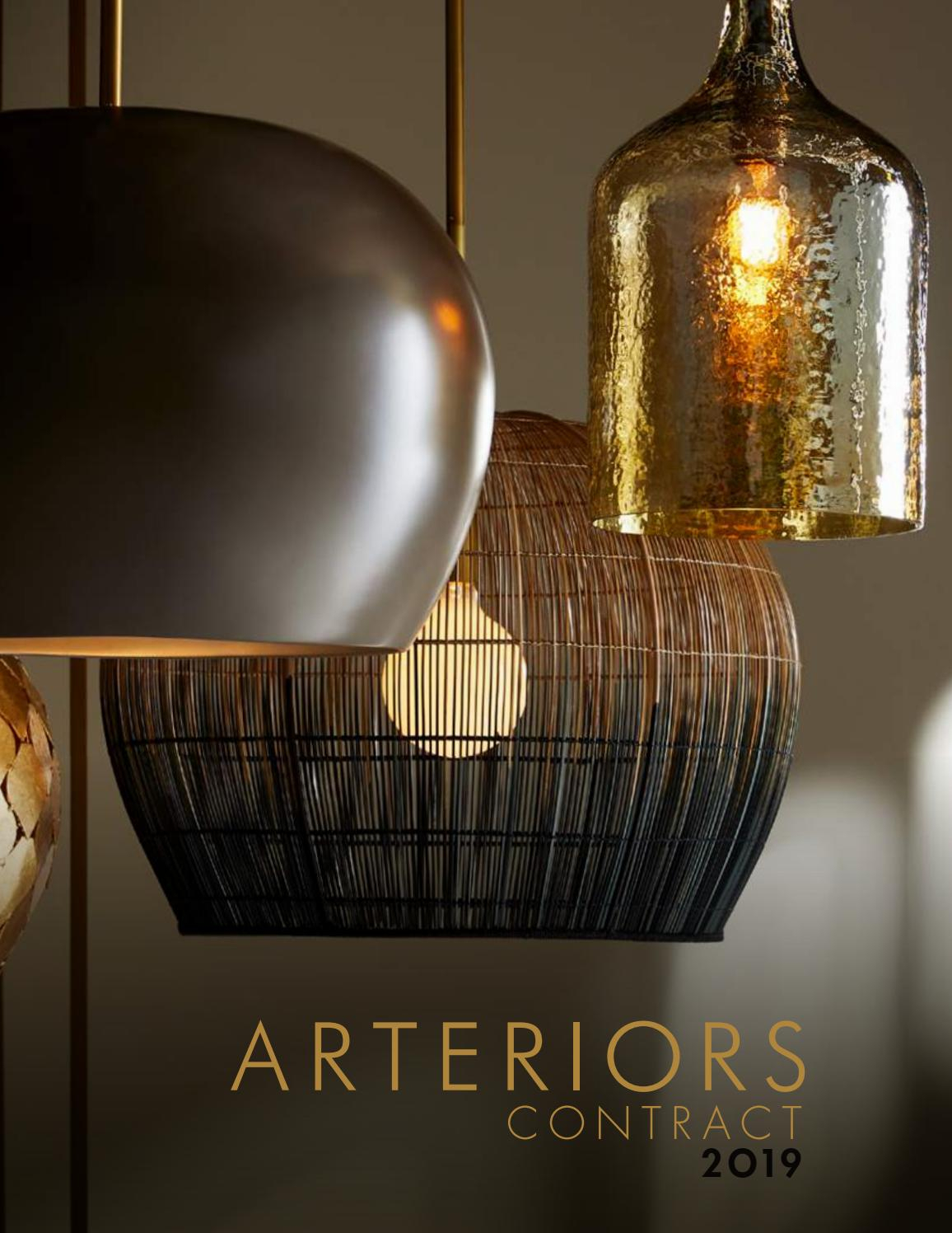 Arteriors 2019 Contract Catalogarteriors – Issuu In Proctor 1 Light Bowl Pendants (View 22 of 30)