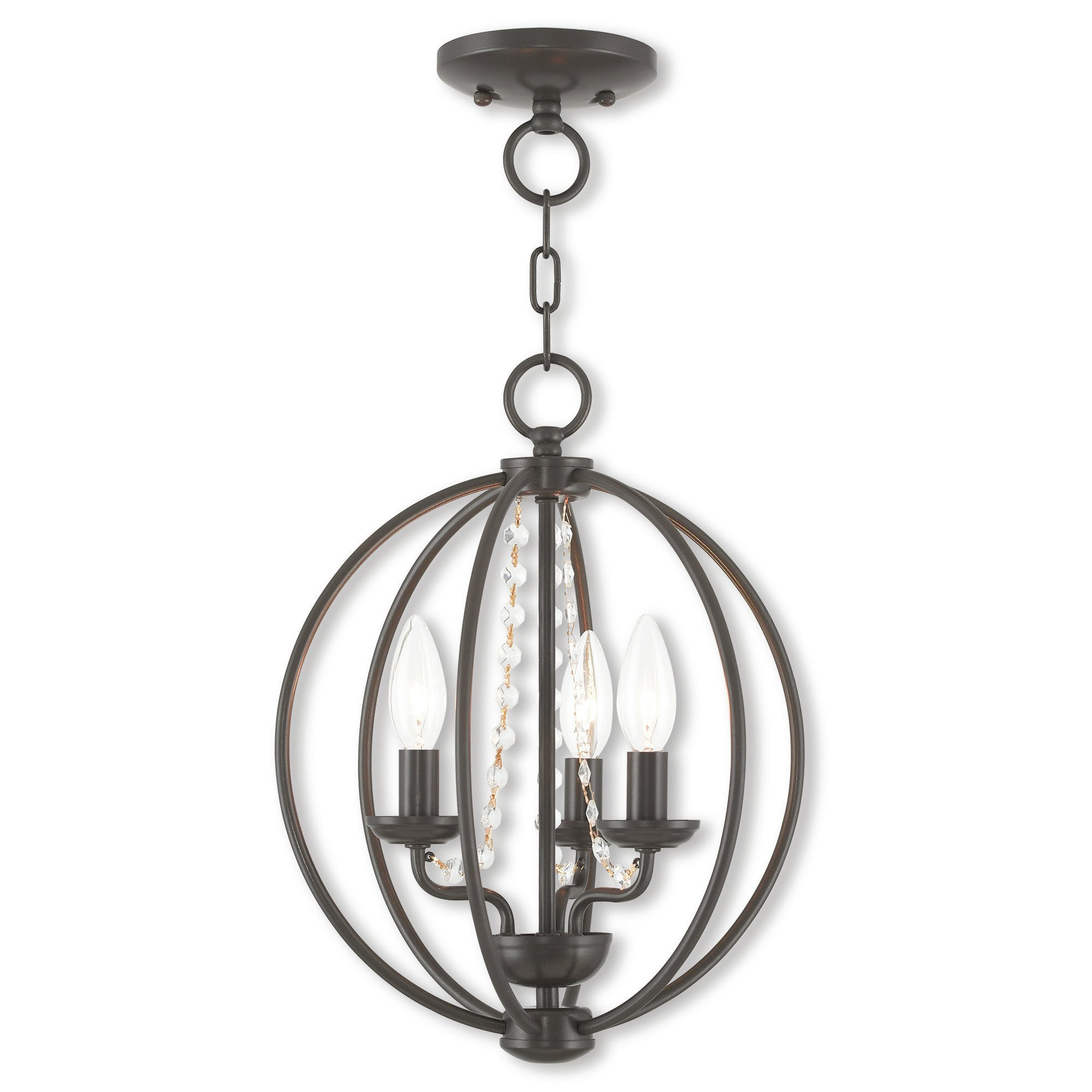 Artus 3 Light Globe Chandelier With Regard To Dirksen 3 Light Single Cylinder Chandeliers (View 5 of 30)