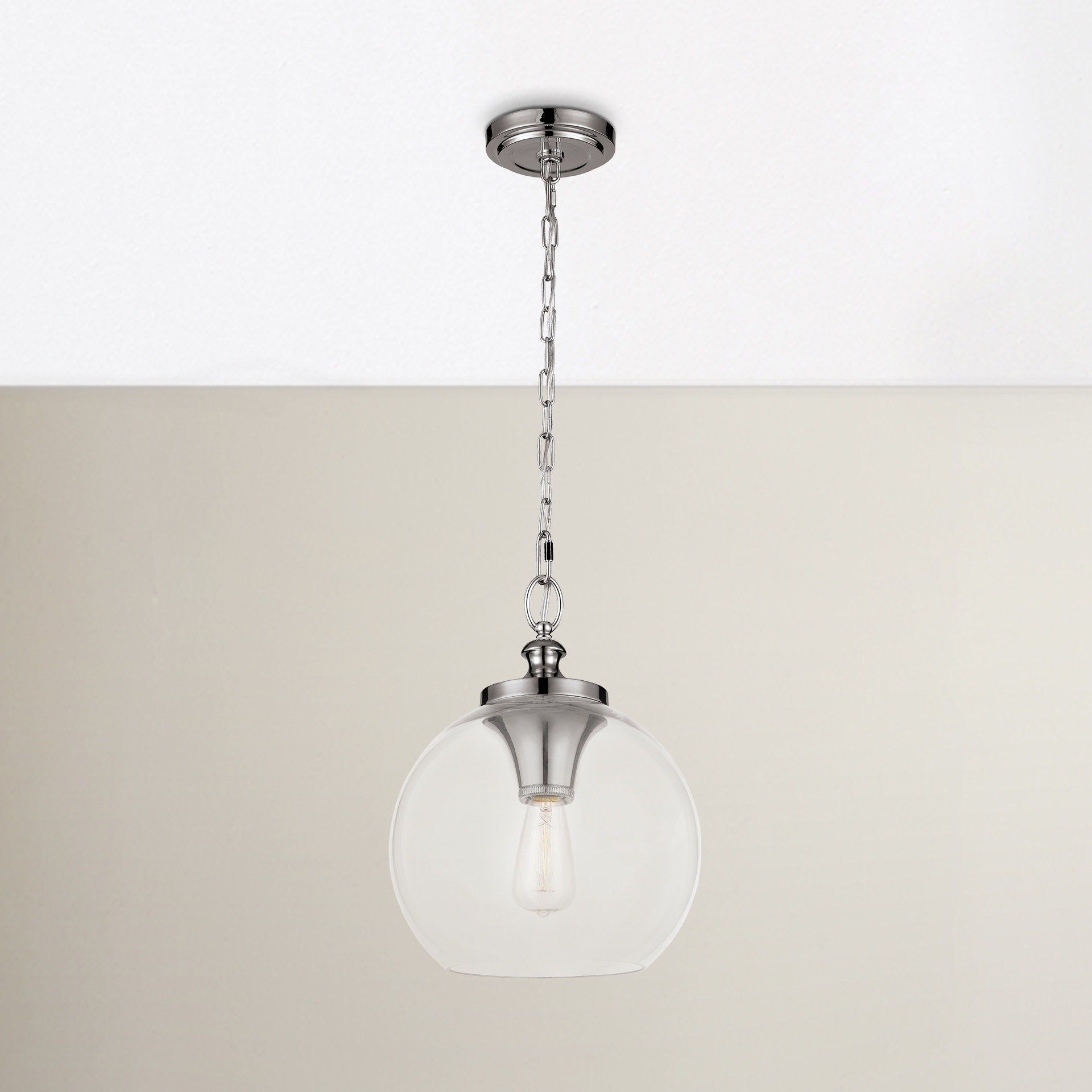 Asellus 1 Light Single Globe Pendant With Regard To Betsy 1 Light Single Globe Pendants (View 5 of 30)