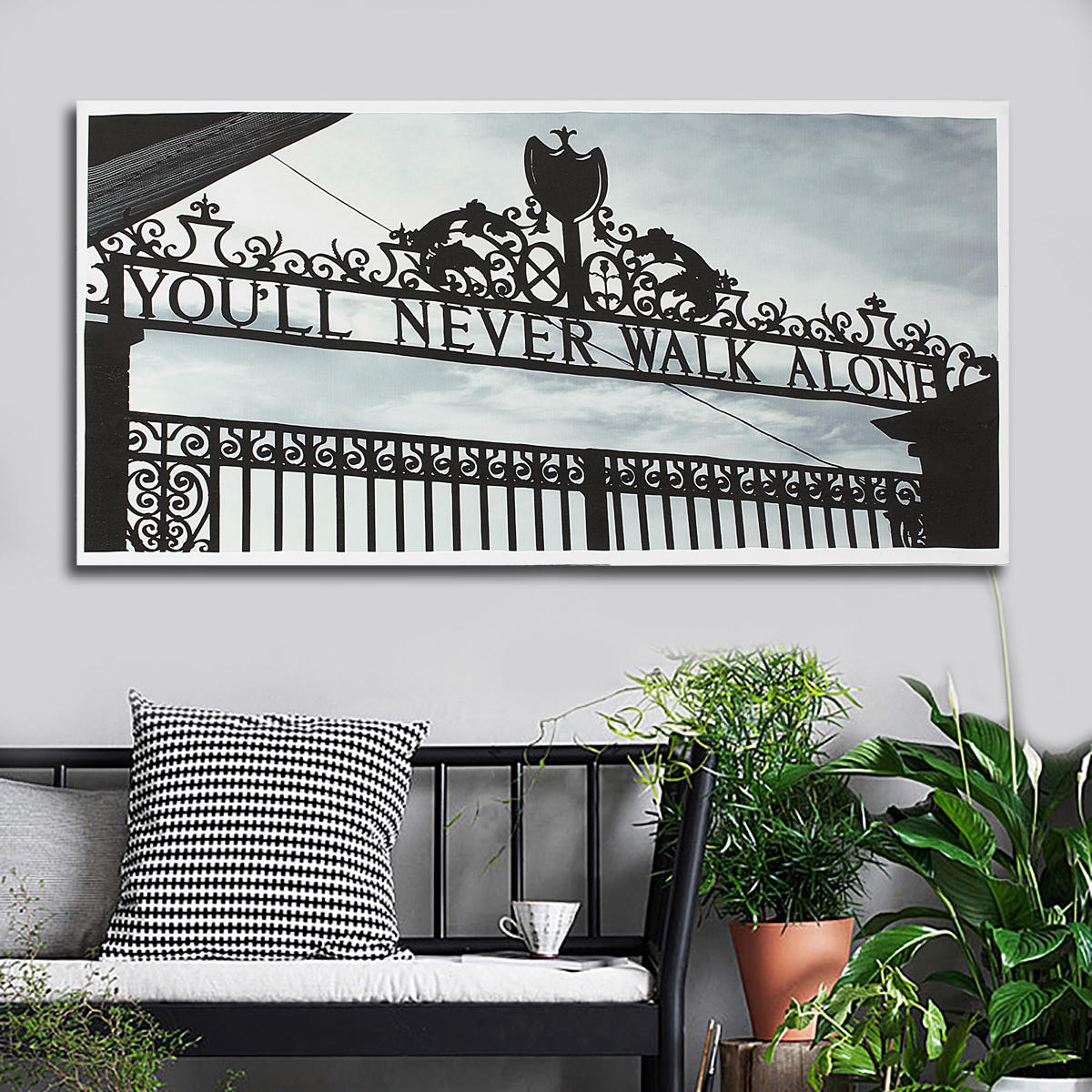 Au Print Wall Decor Black White Door Paintings Art Canvas Pictures Room  Poster with regard to This Is Us Wall Decor (Image 2 of 30)