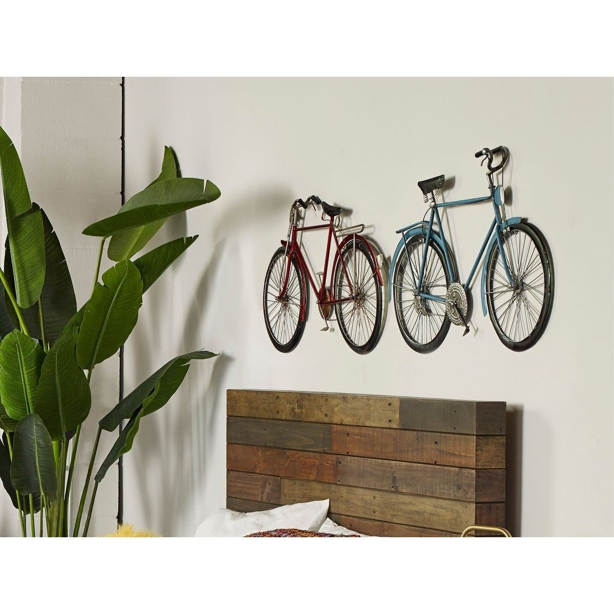 Aurelle Home Red Iron Bike Wall Decor Intended For Bike Wall Decor (View 23 of 30)