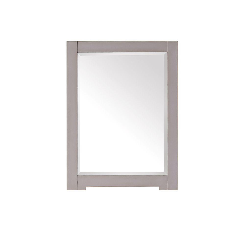 Avanity Kelly 32 In. L X 24 In. W Framed Wall Mirror In Grayish Blue pertaining to Colton Modern & Contemporary Wall Mirrors (Image 5 of 30)