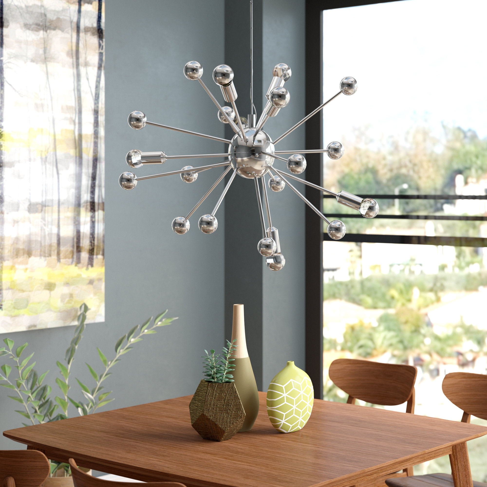 Bacchus 12-Light Sputnik Chandelier throughout Corona 12-Light Sputnik Chandeliers (Image 6 of 30)
