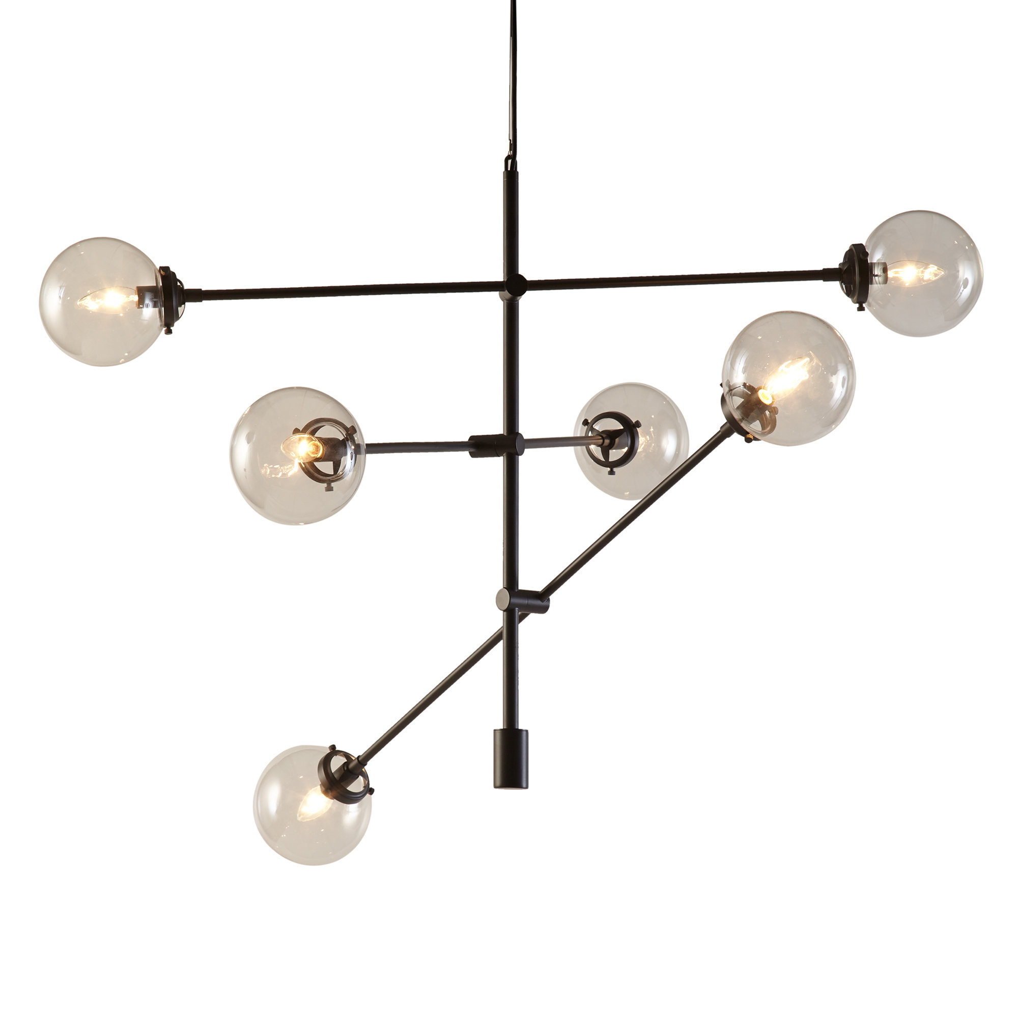 Bailey Antique 6-Light Sputnik Chandelier for Asher 12-Light Sputnik Chandeliers (Image 7 of 30)