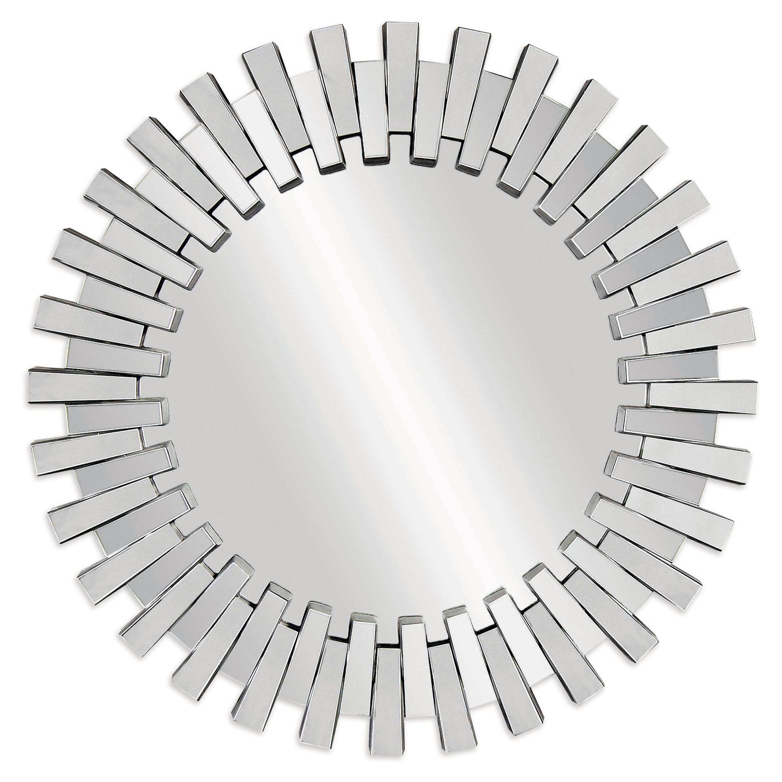 Baka Round Wall Mirror – 41 In (View 2 of 30)