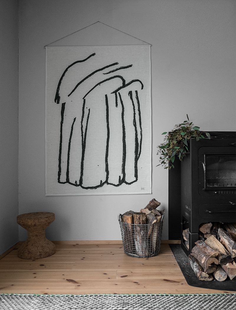Bakerman Wall Hangingekta (Off White/black) – Fine Intended For Tree Of Life Wall Decor By Red Barrel Studio (View 29 of 30)
