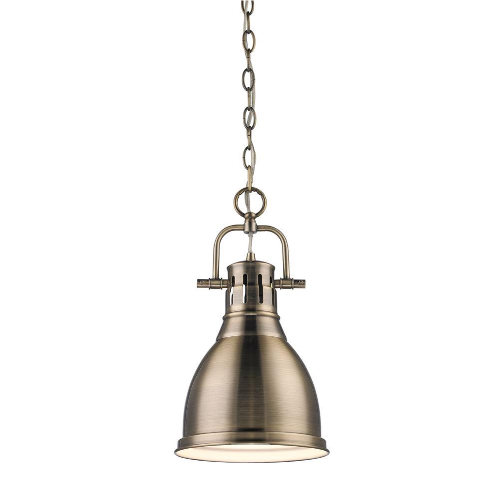 Balden 1 Light Single Bell Pendant Inside 1 Light Single Bell Pendants (View 4 of 30)