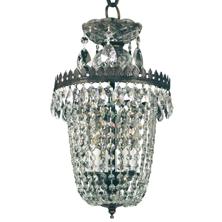 Balmoral 553ad Small Chandelier | 3 Light With Regard To Clea 3 Light Crystal Chandeliers (View 24 of 30)