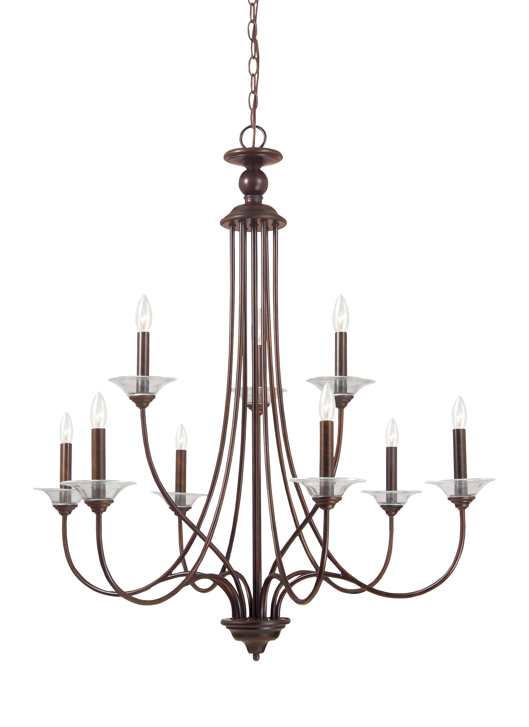 Barbro 9-Light Chandelier for Watford 9-Light Candle Style Chandeliers (Image 5 of 30)