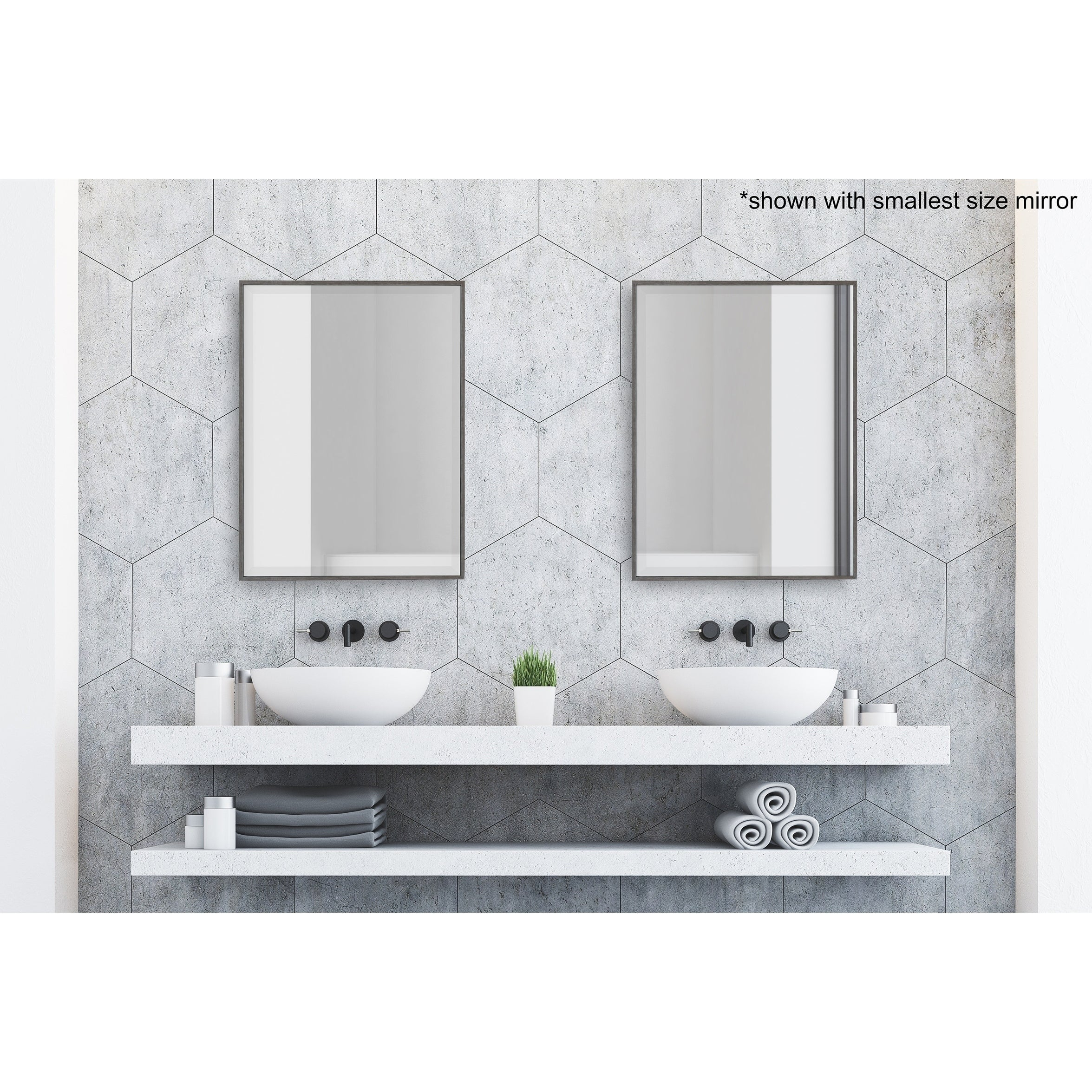 Bathroom Vanity Mirrors | Shop Online At Overstock With Regard To Landover Rustic Distressed Bathroom/vanity Mirrors (View 4 of 30)