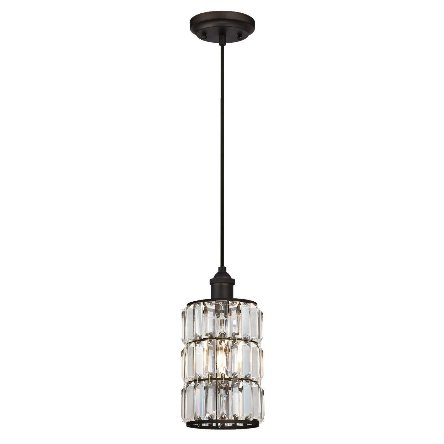 Baxley 1-Light Single Cylinder Pendant within Jayce 1-Light Cylinder Pendants (Image 3 of 30)