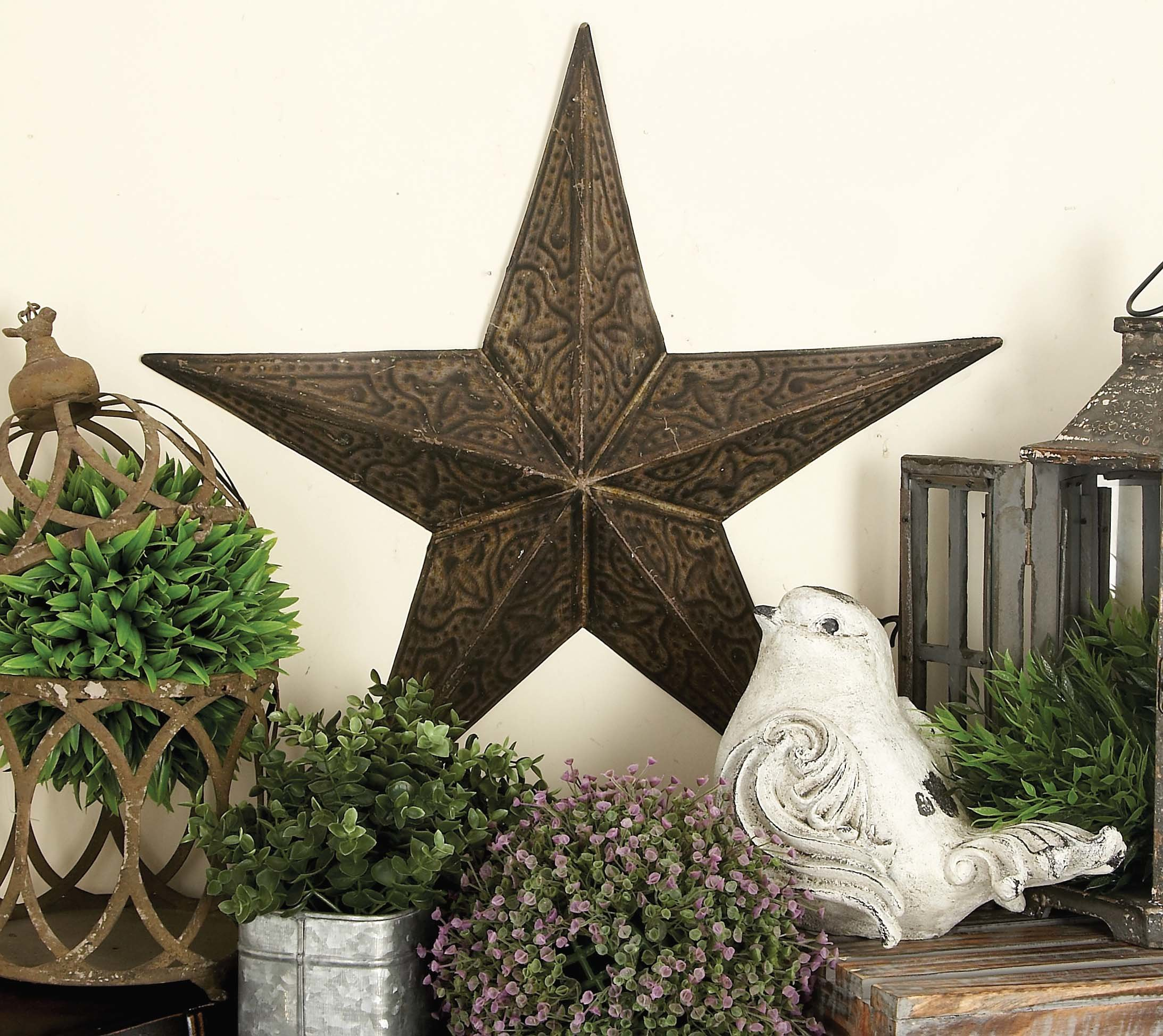 Beachcrest Home 3 Piece Artistic Stars Decorative Wall Décor Throughout 3 Piece Star Wall Decor Sets (View 13 of 30)
