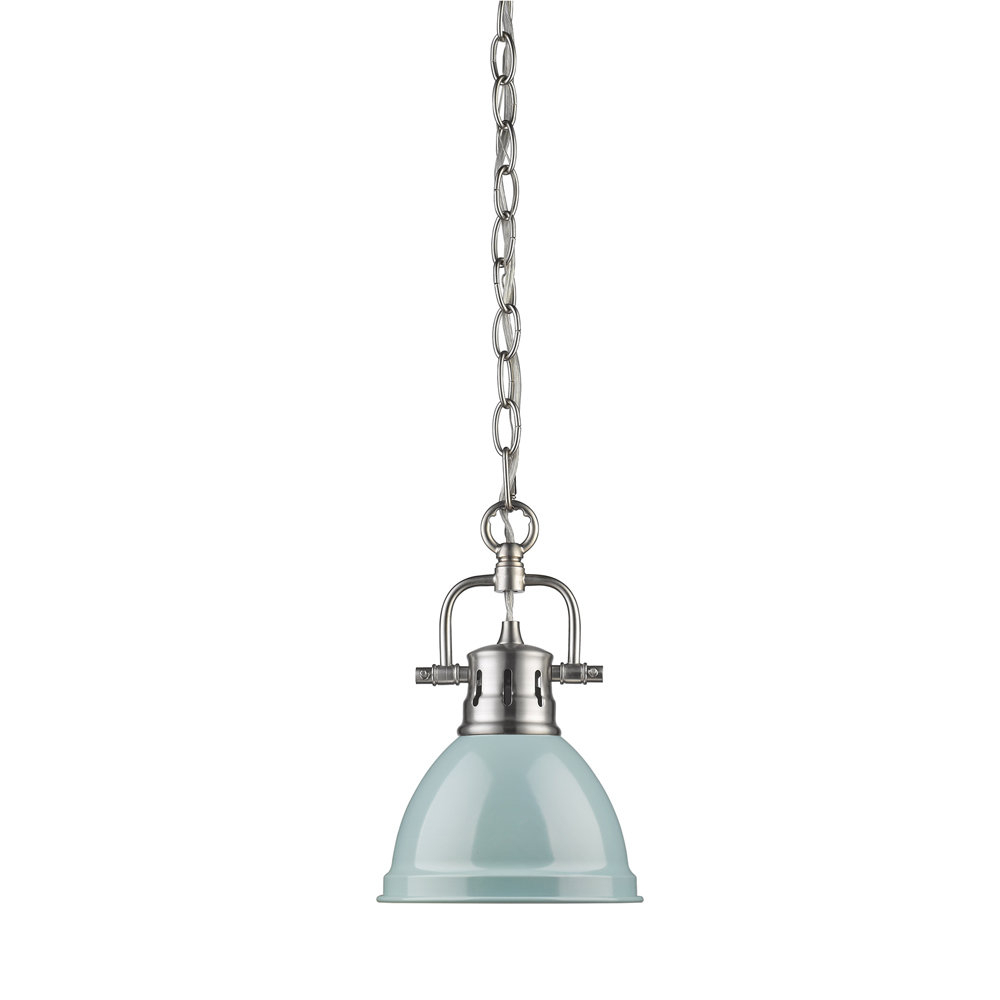 Beachcrest Home Bodalla 1 Light Single Bell Pendant With Carey 1 Light Single Bell Pendants (View 2 of 30)