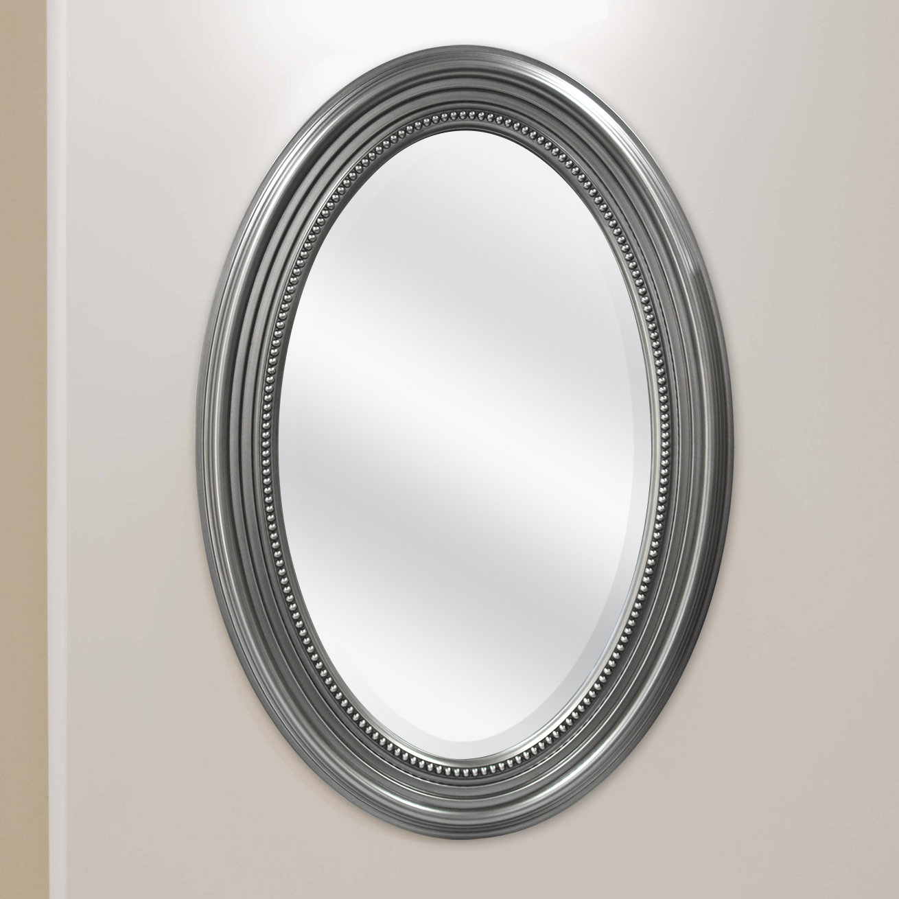 Beaded Accent Mirror Throughout Beaded Accent Wall Mirrors (View 11 of 30)