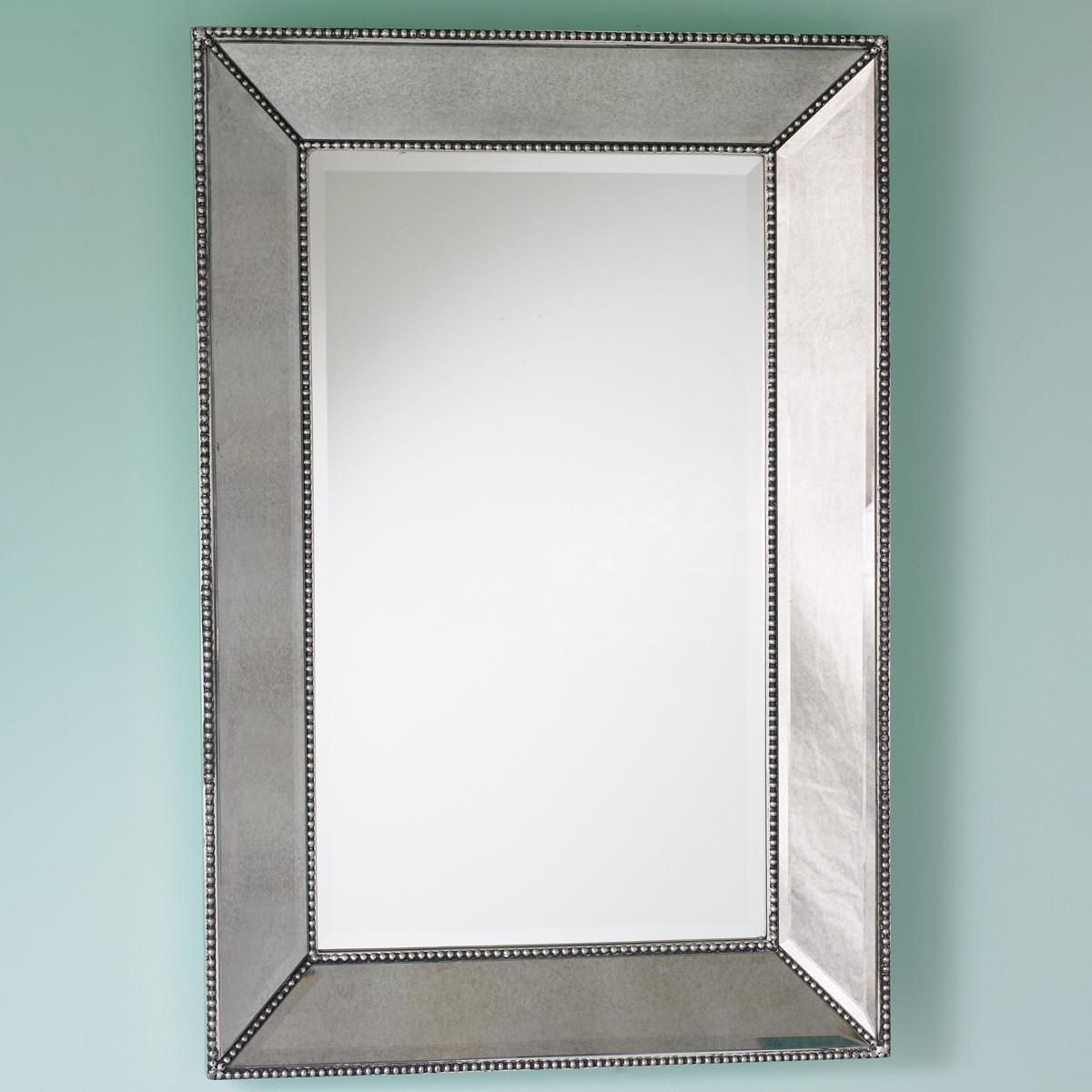 Beaded Frame Mirror – Shades Of Light | 2 Lindsay | Mirror Throughout Maude Accent Mirrors (View 17 of 30)
