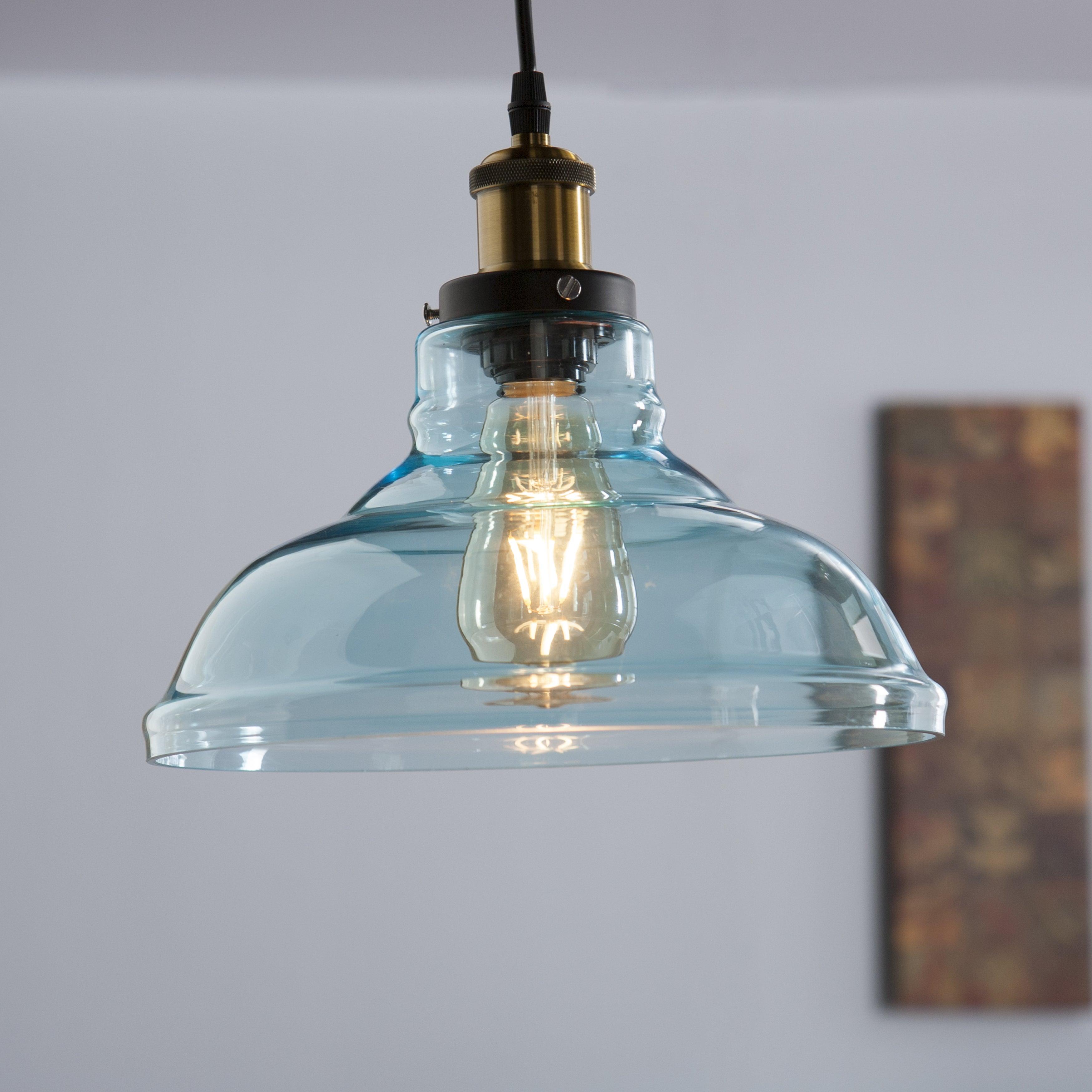 Bell Pendant Light Fixture – The Arts Regarding Grullon Scroll 1 Light Single Bell Pendants (View 18 of 30)