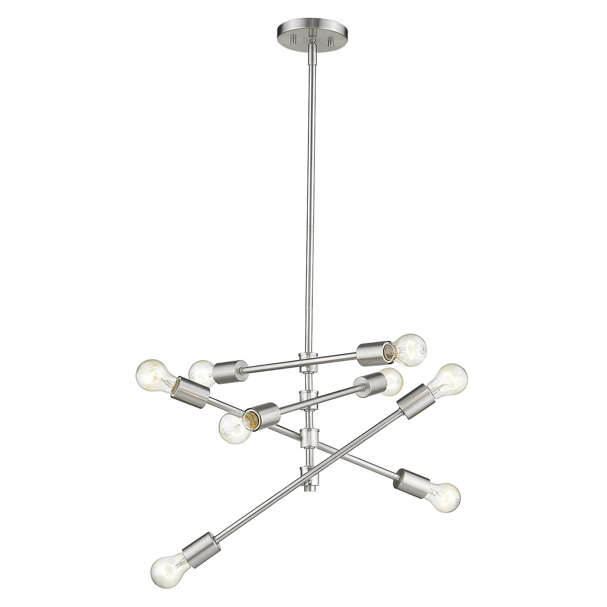 Bella Vista 8-Light Sputnik Chandelier with regard to Asher 12-Light Sputnik Chandeliers (Image 9 of 30)