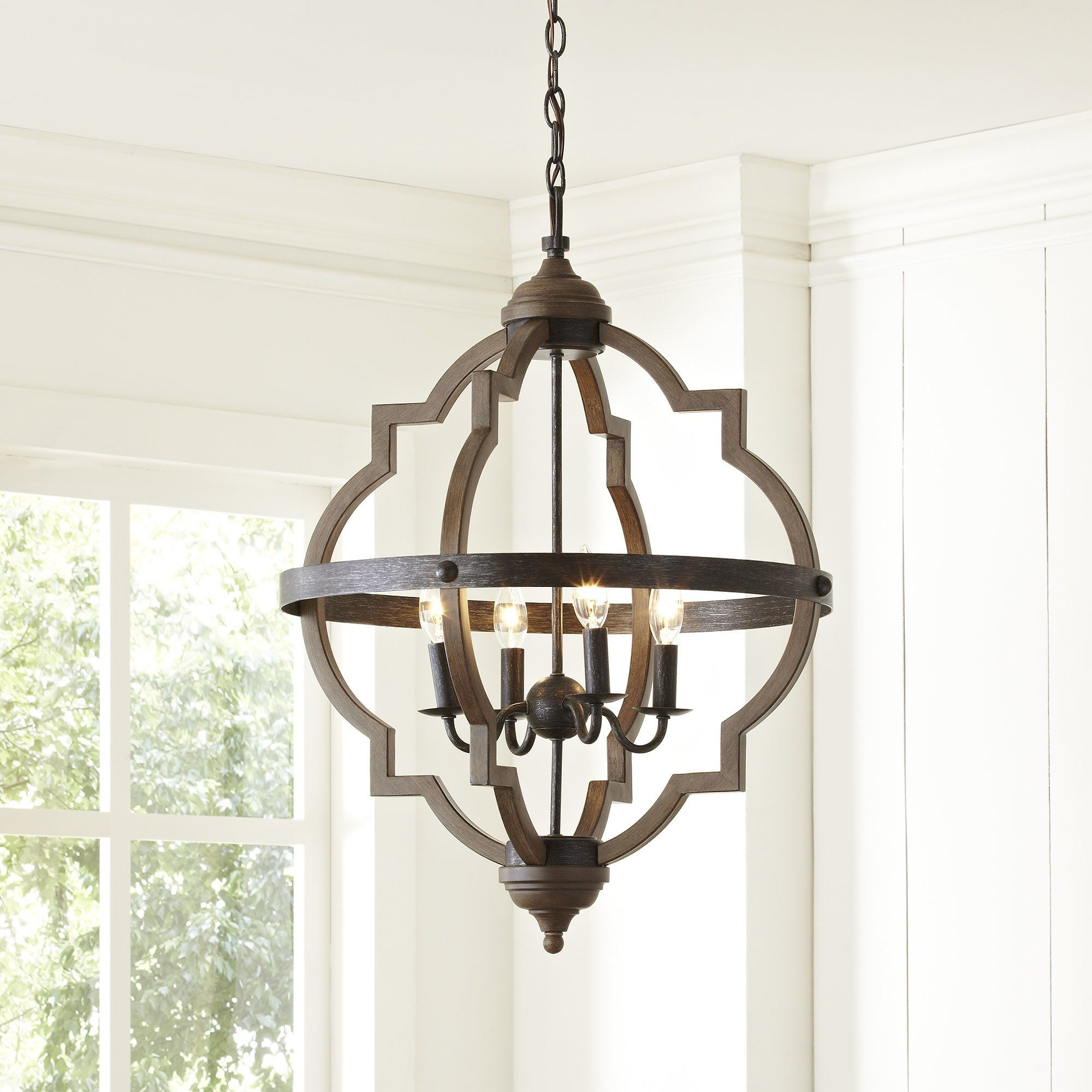 Bennington 6 Light Candle Style Chandelier | Kitchen & Bath Inside Bennington 6 Light Candle Style Chandeliers (View 4 of 30)