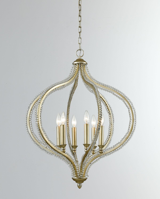 Bennington 6 Light Pendant Pertaining To Bennington 6 Light Candle Style Chandeliers (View 12 of 30)