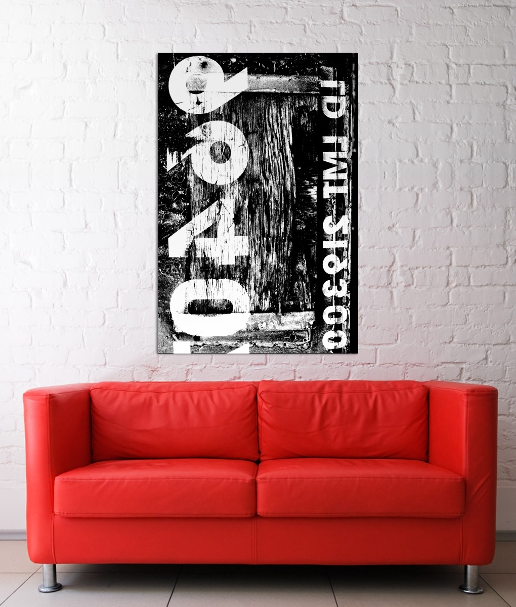 Best Industrial Wall Art Prints Framed Design And Decor throughout Large Modern Industrial Wall Decor (Image 1 of 30)