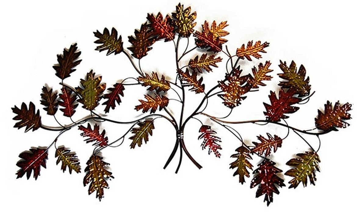 Best Of Autumn Leaves Metal Wall Decor | Wall Ideas within Leaves Metal Sculpture Wall Decor (Image 9 of 30)
