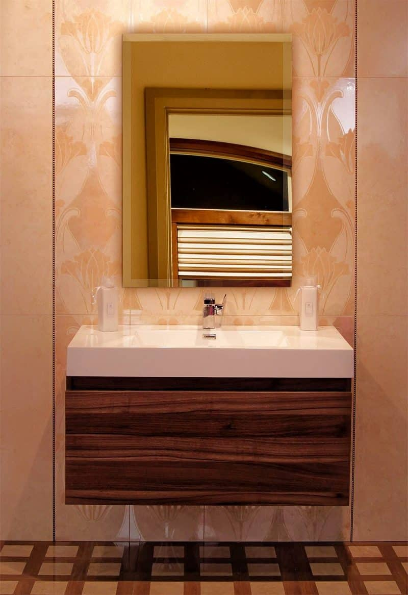 "Best Of"" List Of Vanity Mirror Ideas To Get Inspired! Pertaining To Sajish Oval Crystal Wall Mirrors (View 15 of 30)"