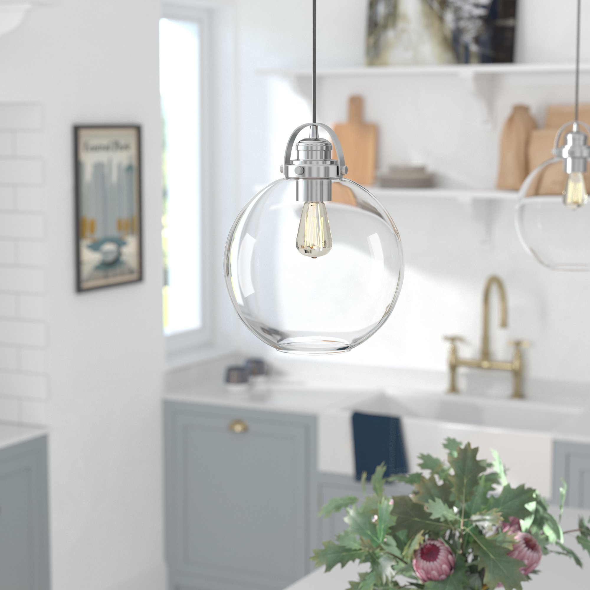 Featured Photo of Betsy 1 Light Single Globe Pendants