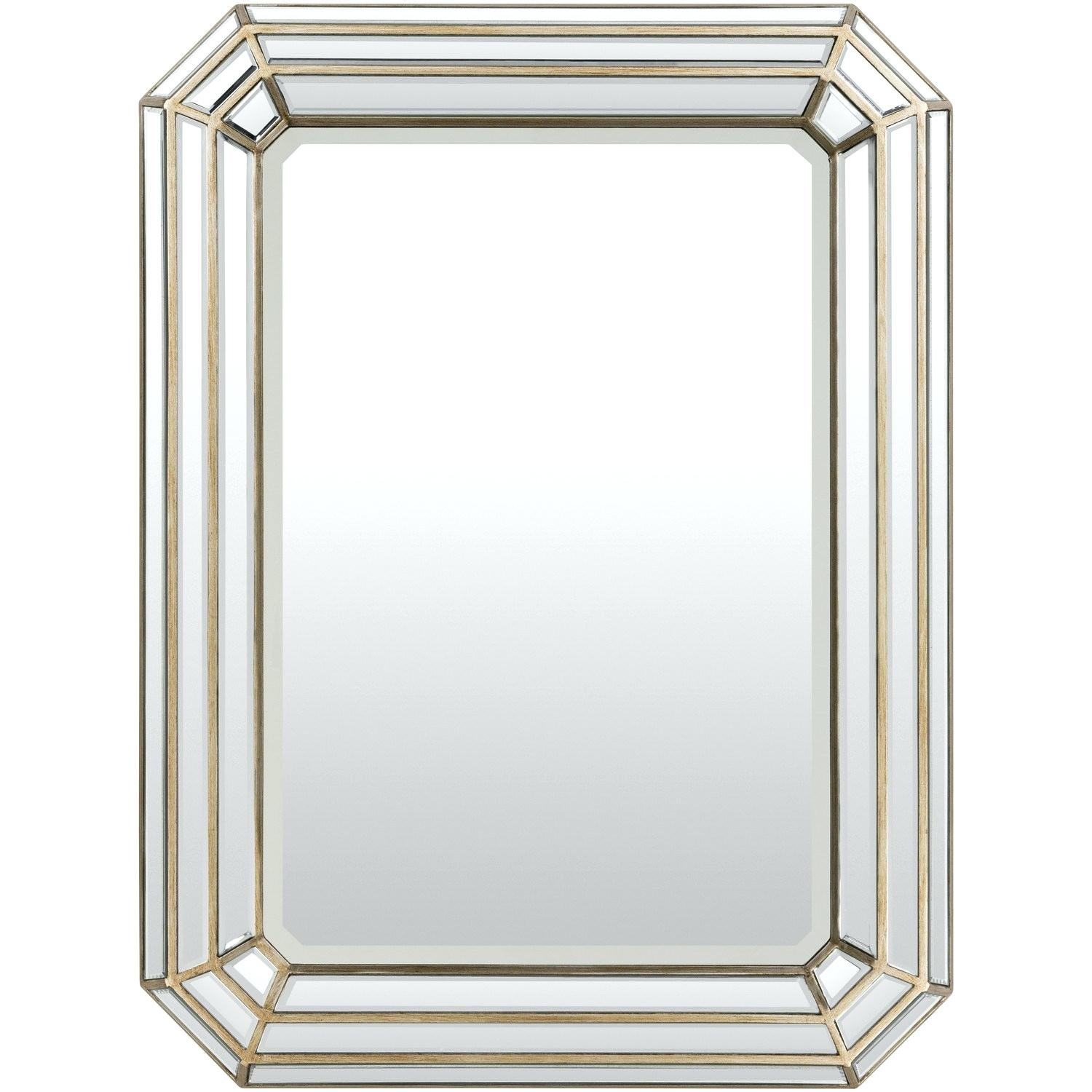 Beveled Wall Mirror With Mdf Frame – Fefisbaby With Regard To Lake Park Beveled Beaded Accent Wall Mirrors (View 9 of 30)