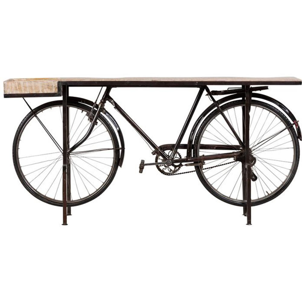 Bicycle Console Table | Housekeeping & Homedecor In 2019 Inside Bike Wall Decor By August Grove (View 17 of 30)