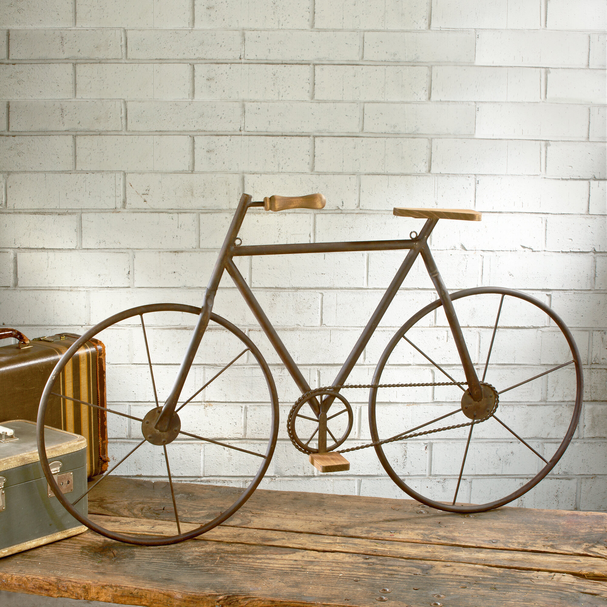 Bicycle Wall Décor For Bike Wall Decor By August Grove (View 5 of 30)