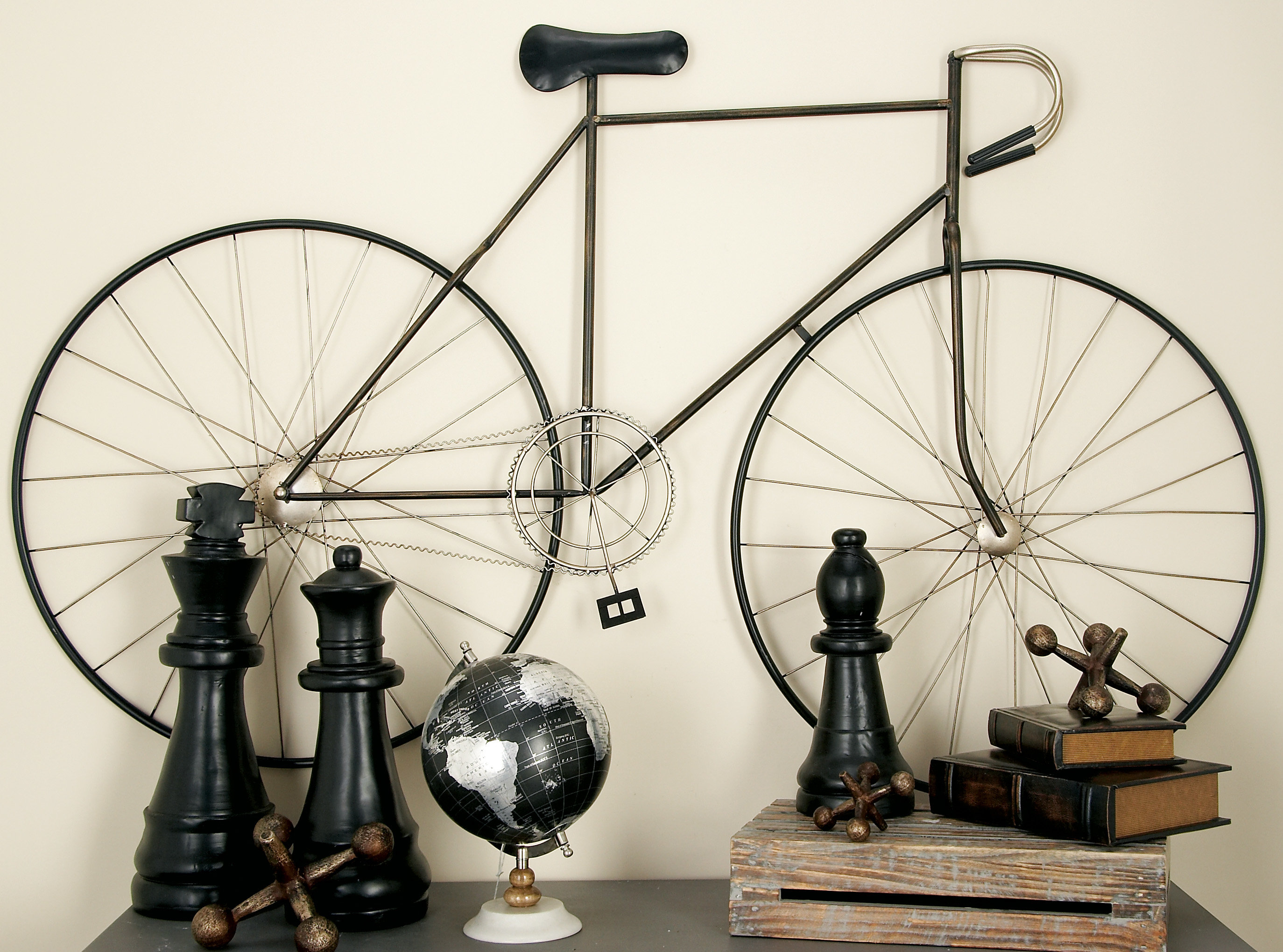 Featured Photo of Bike Wall Decor